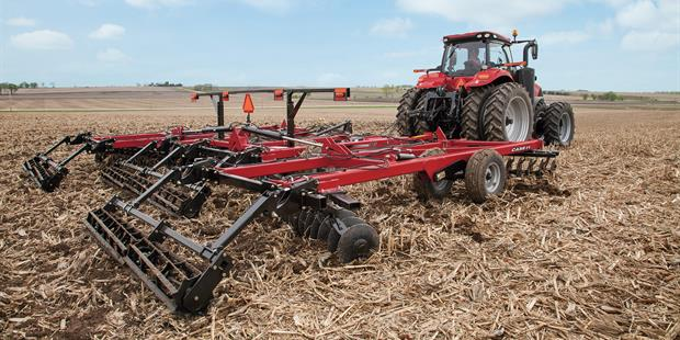 True Tandem disk harrow