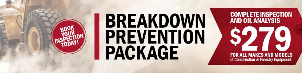 Breakdown Prevention Package