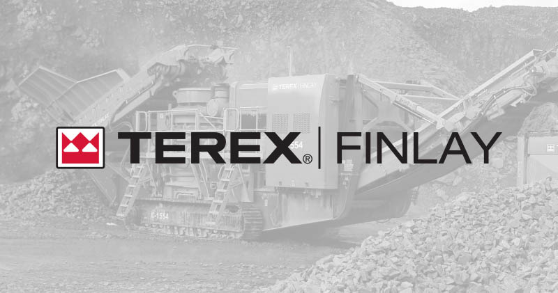 Terex Finlay Logo with background