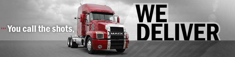 Mack Trucks We Deliver