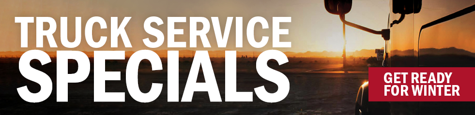 Truck and Trailer Service Specials